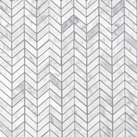 Stone - Carrara Chevron 3/4
