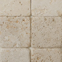 White Tumbled Travertine